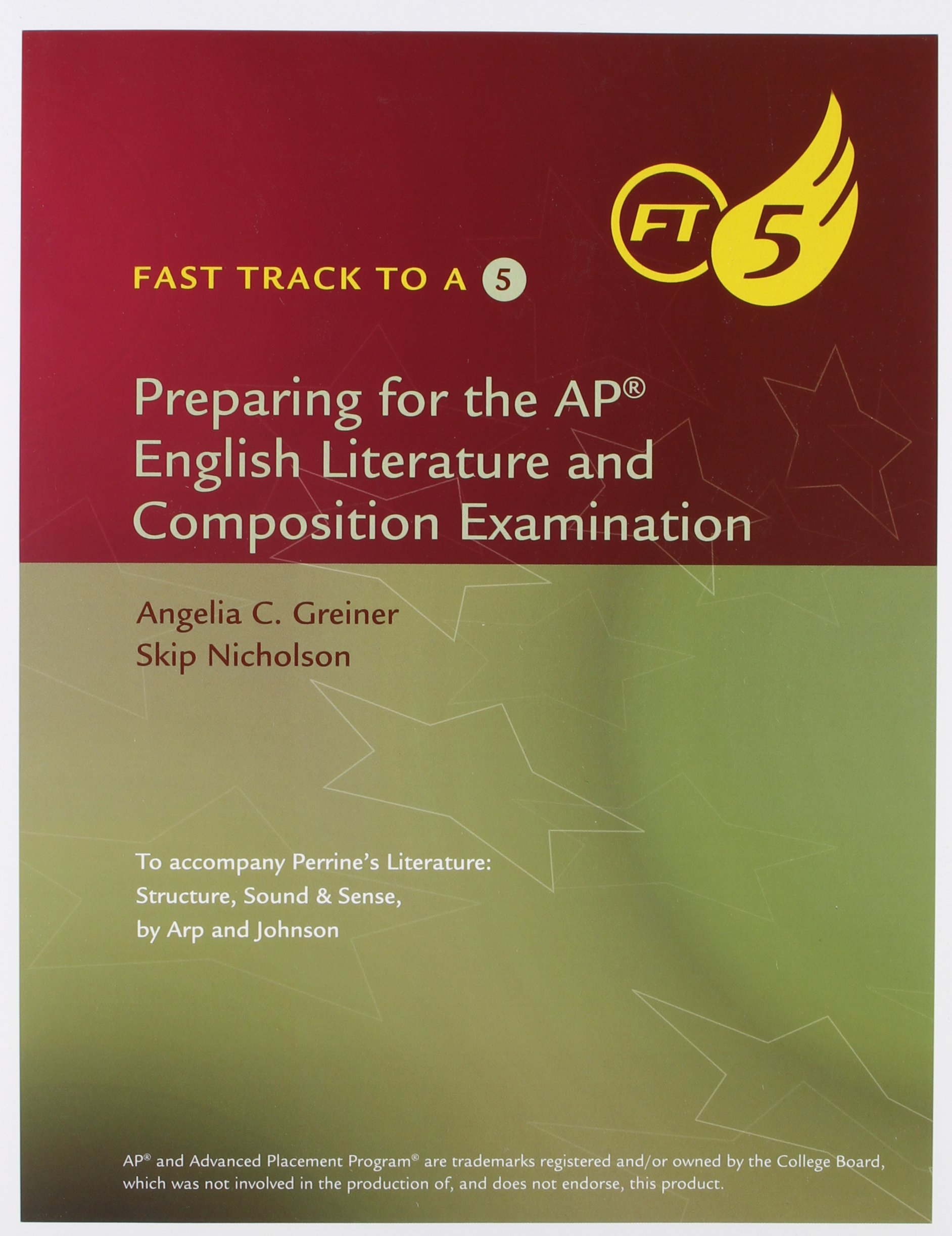 Read Online Fast Track to a 5: Preparing for the AP English Literature and Composition Examination PDF