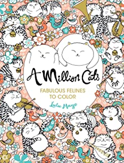 A Million Cats Fabulous Felines To Color