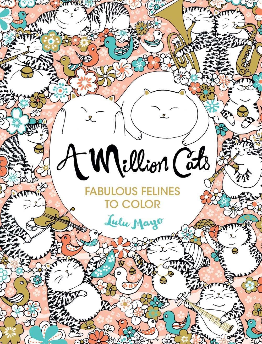 Million Cats Fabulous Felines Color product image