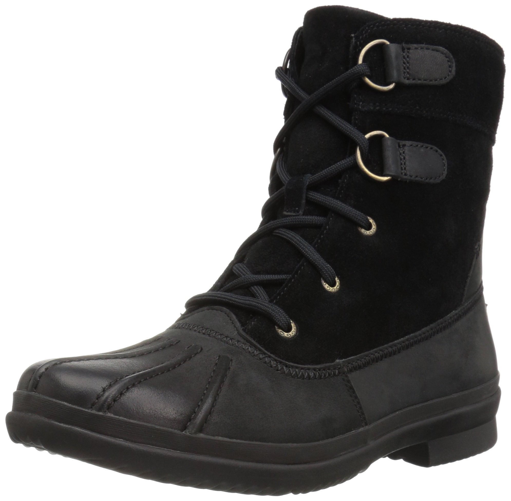 UGG Women's Azaria Winter Boot, Black, 7.5 M US