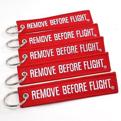 Amazon.com  Rotary13B1 - Remove Before Flight Key Chain 5 Pack ... 5d77ed78ec
