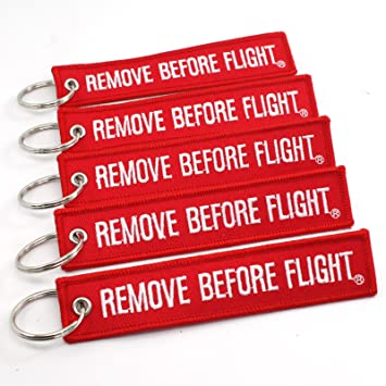 Rotary13B1 – Llavero «Remove before flight», 5 unidades ...