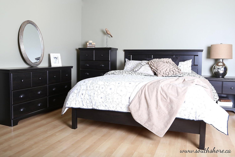 Amazon.com: South Shore Furniture, Mountain Lodge Collection, Night Table,  Ebony: Kitchen U0026 Dining