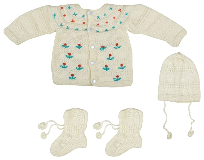 2396f6763 Kuchipoo Unisex Hand Knitted Woollen Clothing Set (KUC-MNC ...