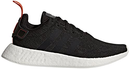 size 40 0a41d 43378 adidas Originals Men's NMD_R2 Sneaker, Black/Black/Future Harvest, 9.5 M US