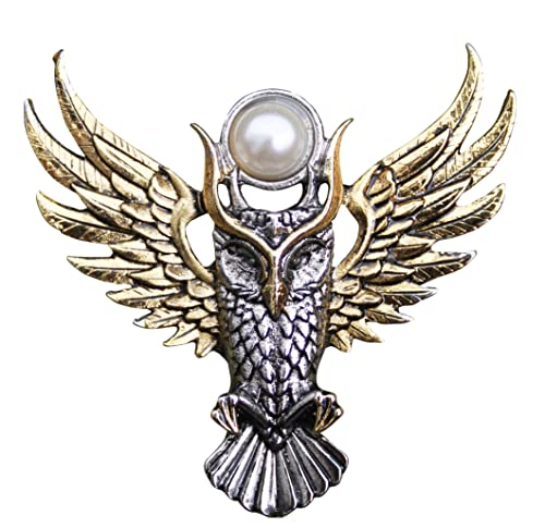 Amazon Com Enchanted Jewelry Briar Bestiary Owl Of Athena