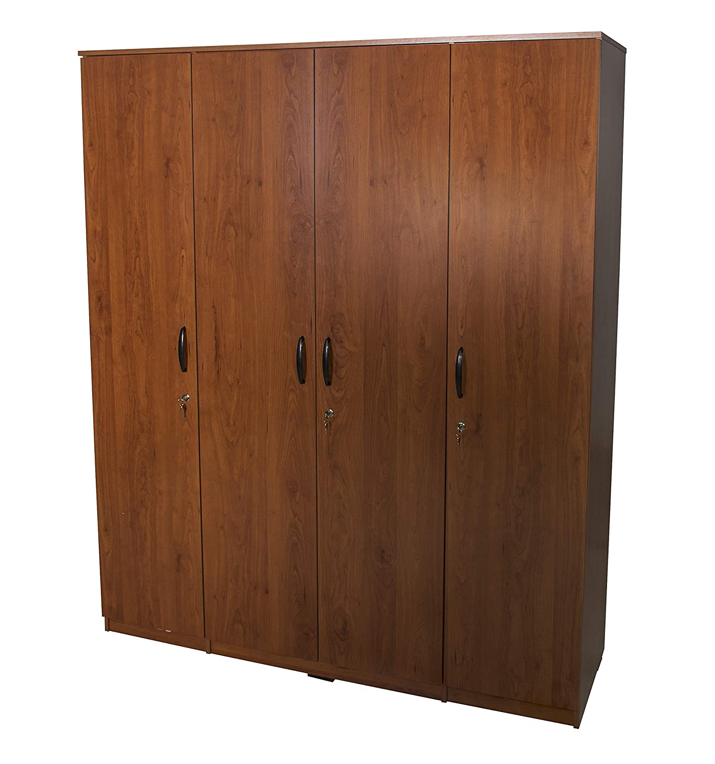 Zuari Star 4 Door Wardrobe (NR Teak)