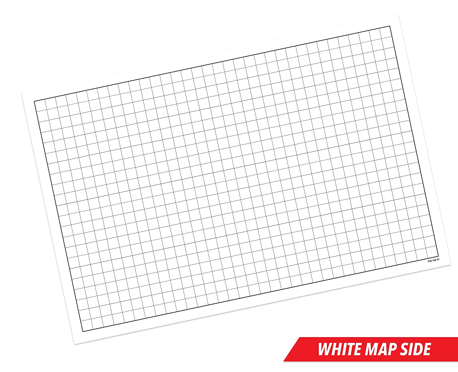 Rpg Battle Grid Game Mat 24 X 36 Double Sided W