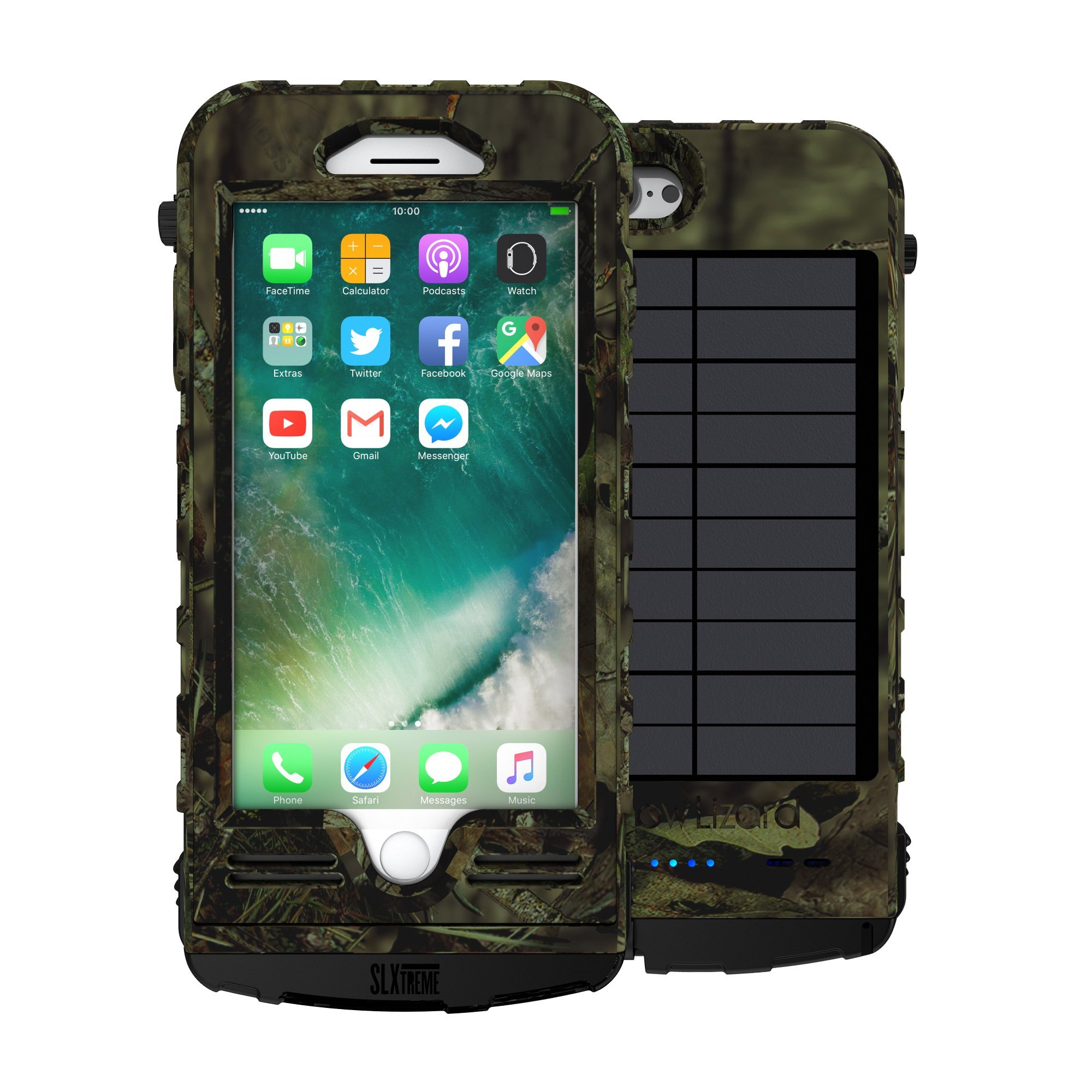 Snow Lizard Products SLXTREME iPhone 8 Plus Case - Mossy Oak Camo by Snow Lizard Products