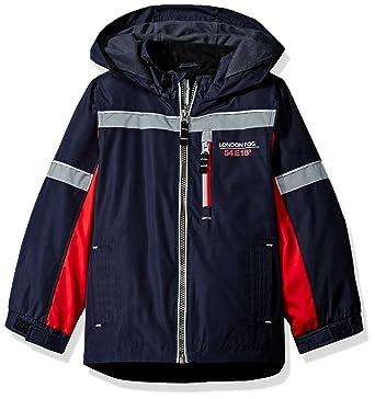 dcc51bf9f Amazon.com  London Fog Boys  Colorblocked Jacket  Clothing