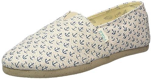 Paez Original Eva Cork Anclas, Alpargatas Unisex Adulto, (Blue Morocco, Linen 0008), 36 EU: Amazon.es: Zapatos y complementos