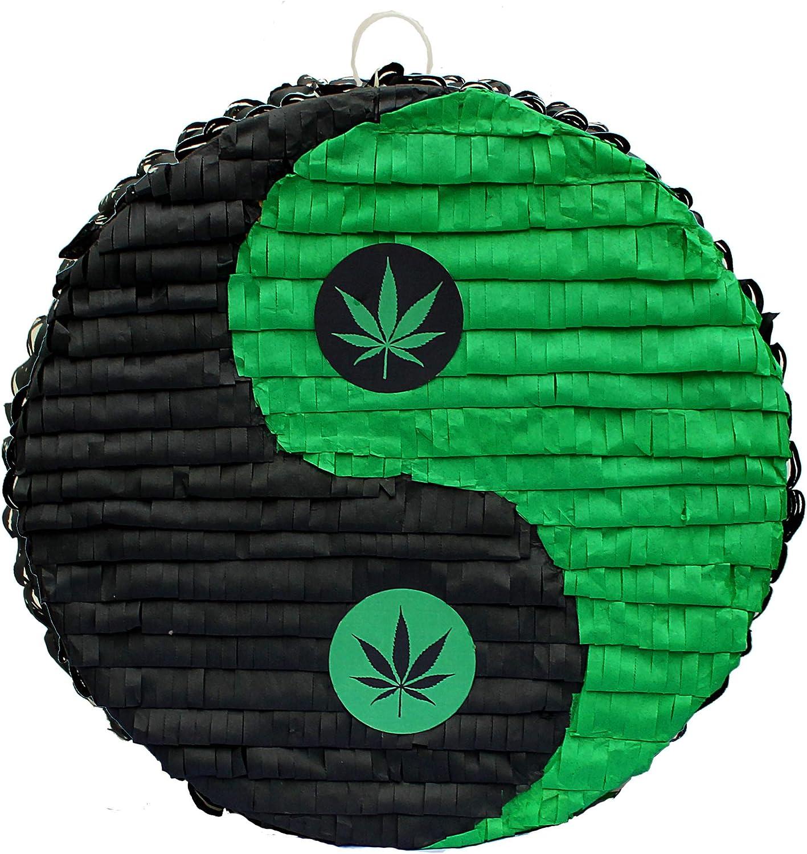 Inc Aztec Imports Weed Yin-Yang Pinata