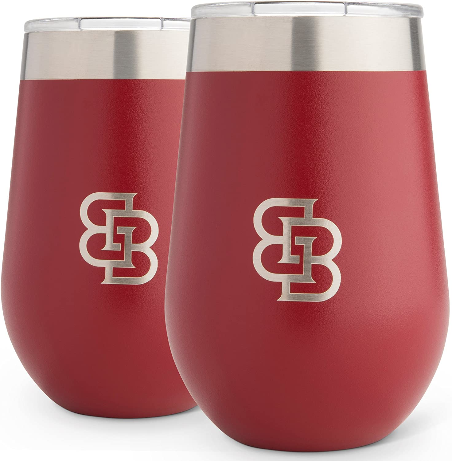Wine Tumbler with lid Checkered Love