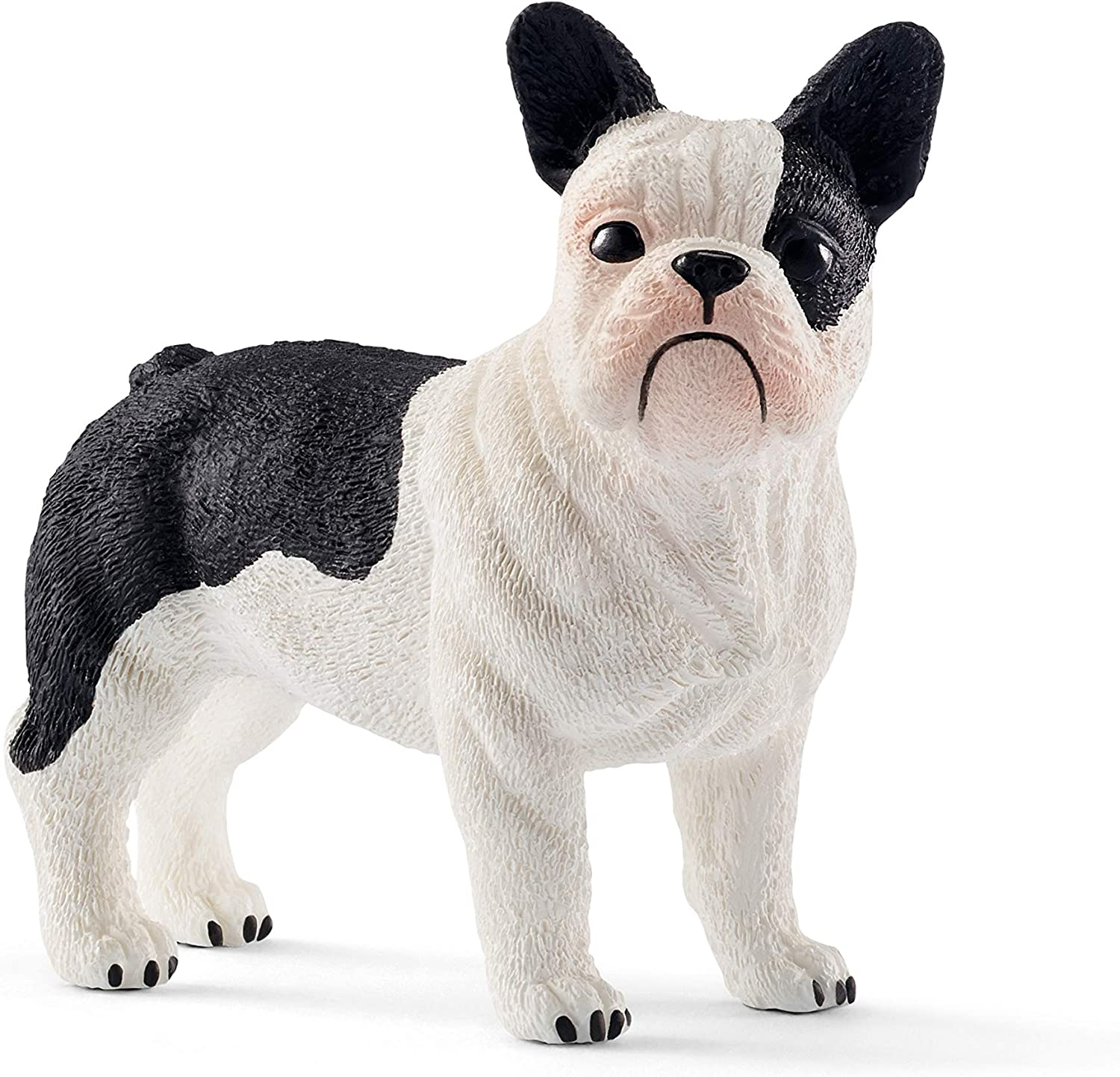 SCHLEICH Farm World French Bulldog Educational Figurine for Kids Ages 3-8