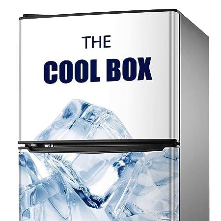 MEGADECOR Adhesivo Decorativo para Nevera Diseño Refrescante de ...
