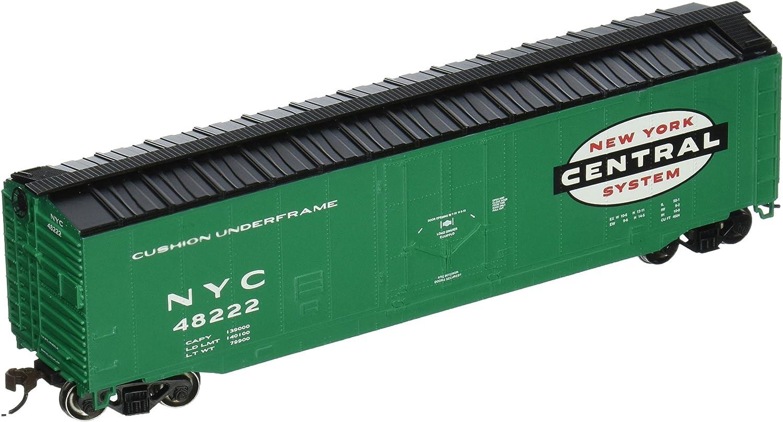 Bachmann 18020 HO Scale New York Central 50/' Plug-Door Box Car