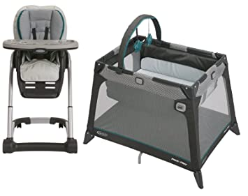 Amazoncom Graco Blossom 4 In 1 Highchair Seating System With Pack