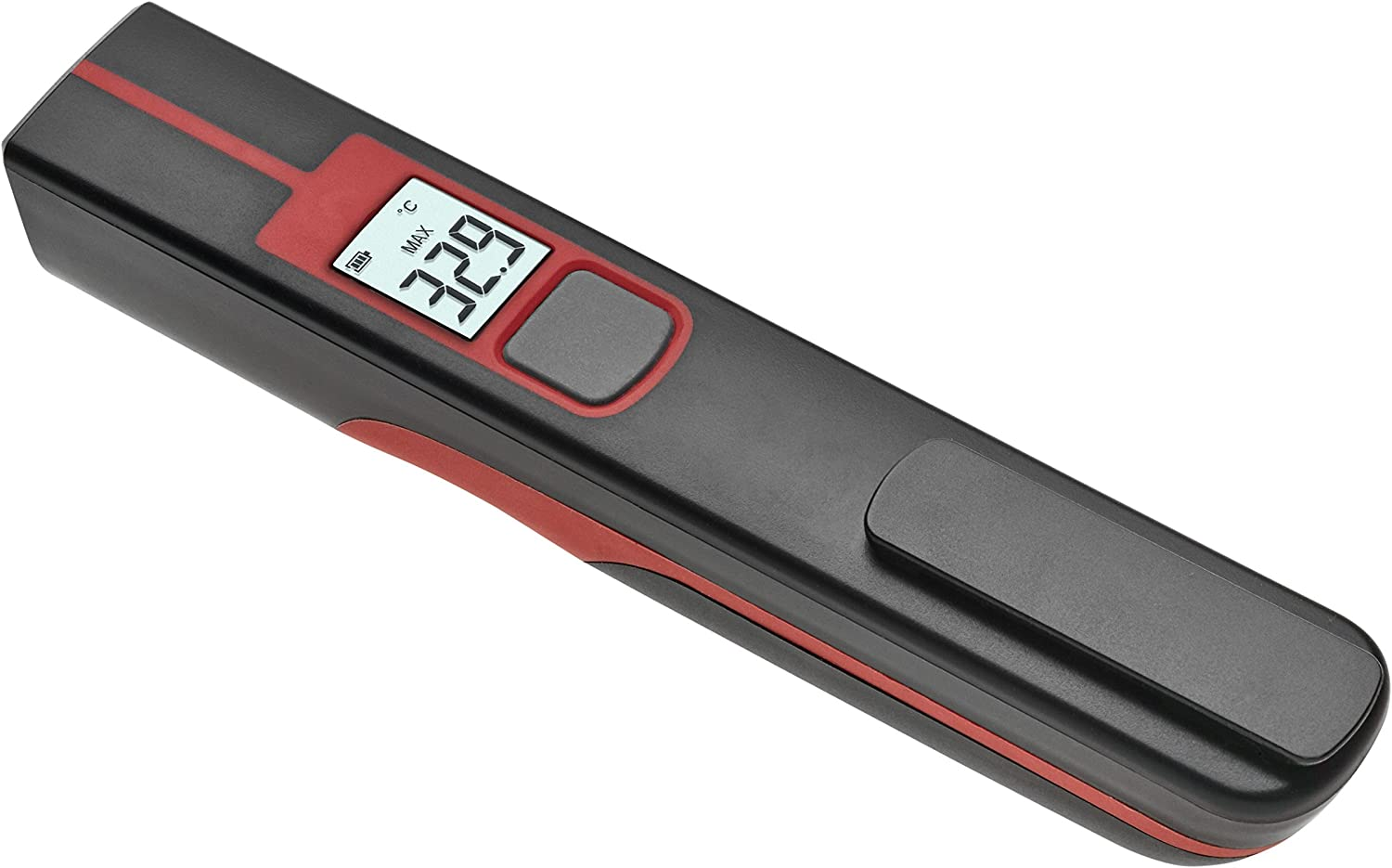 TFA Dostmann Circle-Pen Infrared Thermometer Non-Contact Measurement Surface Temperature Pocket Size Ideal for Professional Use