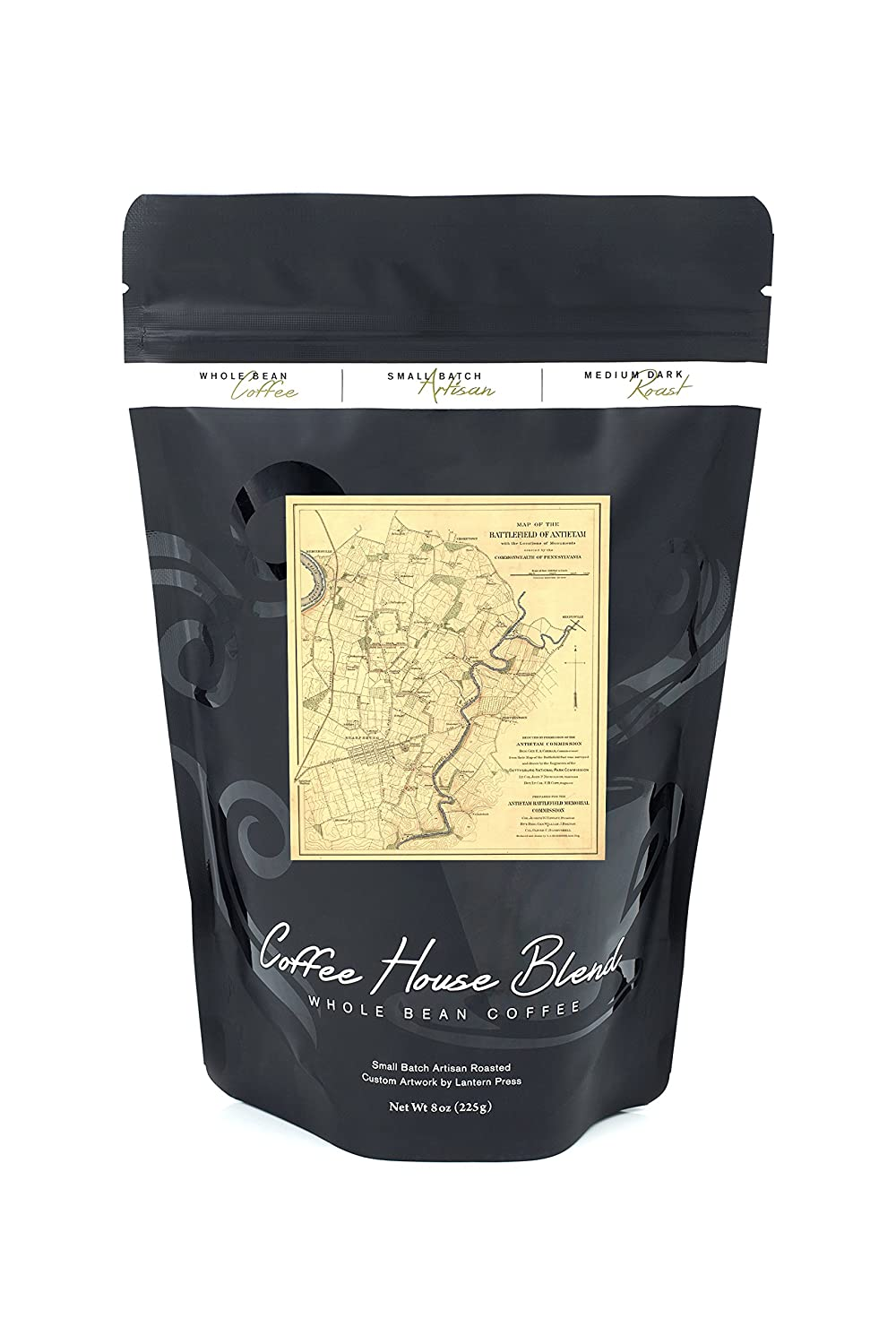戦いのAntietam – Civil WarパノラマMap Coffee Canvas Tote WarパノラマMap Bag LANT-19964-TT Civil B074RX19KM 8oz Coffee Bag 8oz Coffee Bag, ProShopスポテック:25cd7cf2 --- itxassou.fr