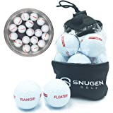 SNUGEN (TM Floater Golf Range Balls, Practice Floating Balls