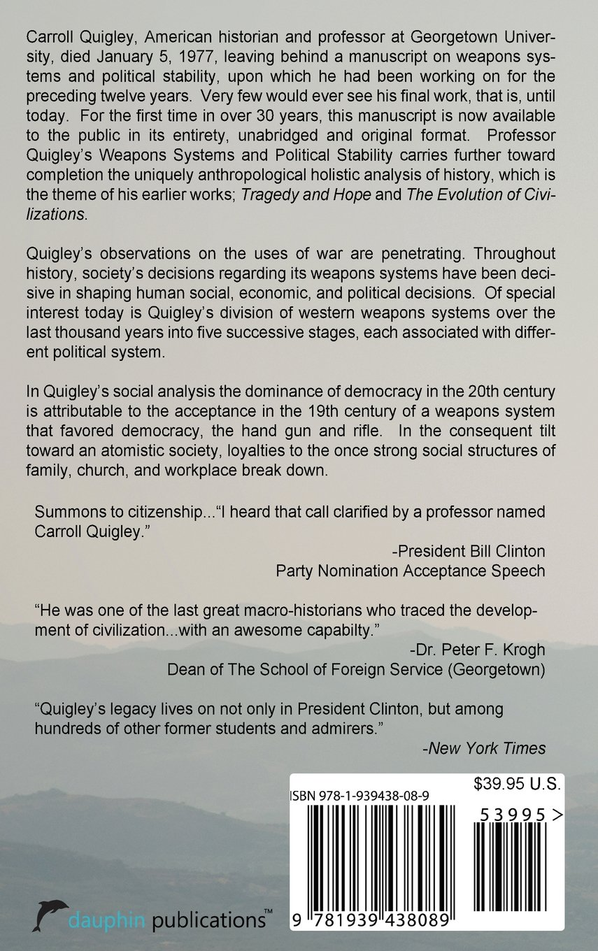 Weapons systems and political stability a history carroll weapons systems and political stability a history carroll quigley 9781939438089 amazon books fandeluxe Choice Image