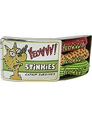Rosewood 63706 Yeowww! Katzenspielzeug Stinkies, drei Sardinen in der Dose
