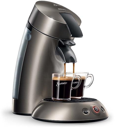 Philips HD7818/61- Máquina de café de pods, plateado