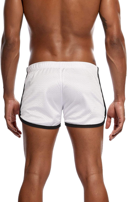 Yateen Mens Mesh Swim Trunks Quick Dry Beach Shorts