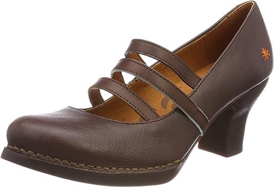 TALLA 39 EU. Art Harlem, Zapatos de tacón con punta cerrada para Mujer
