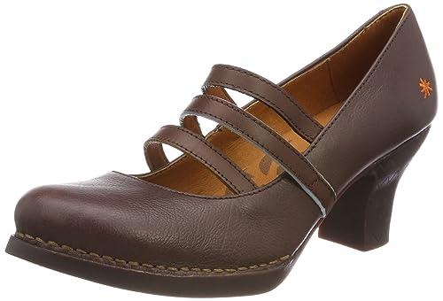 Art 1064 Memphis Harlem, Zapatos de Tacón con Punta Cerrada para Mujer, Rojo (Petalo), 41 EU