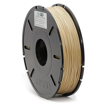 gp3d madera 3d impresora filamento luz natural Color - 1,5 kg 1,75 ...