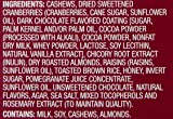 Wickedly Prime Fruit & Nut Bar, Cashews