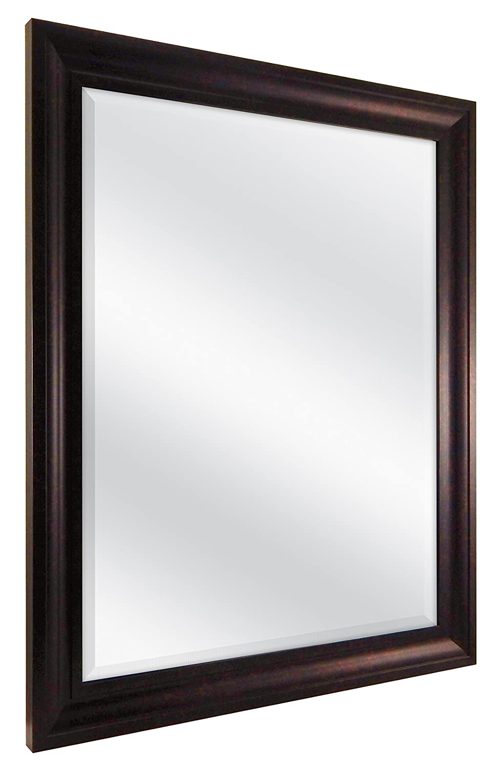 MCS 21.5x27.5 Inch Wall Mirror, 26.5x32.5 Inch Overall Size, Bronze (20451)
