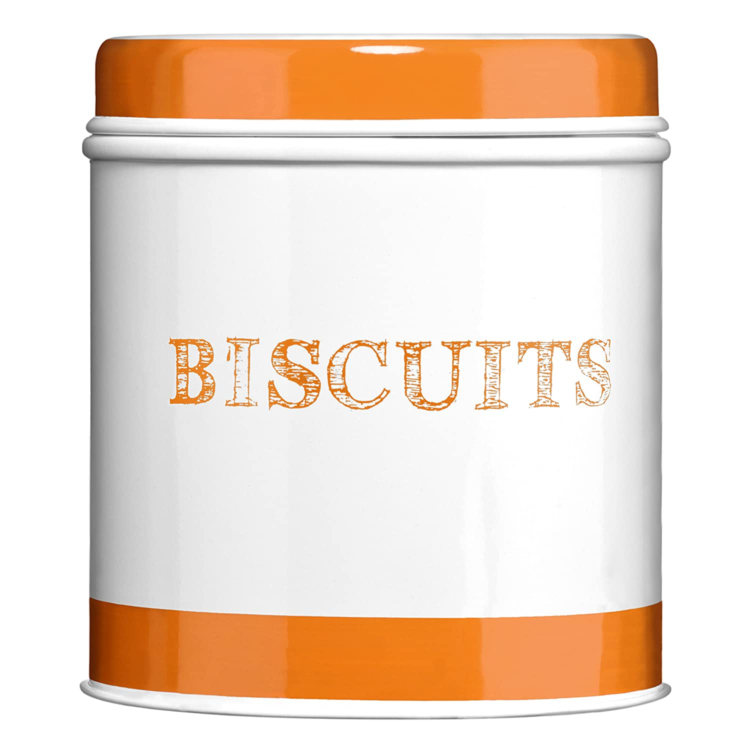 Premier Housewares Band Biscuit Canister - Green 0507926