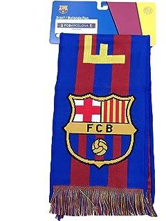 BUFANDA OFICIAL FC BARCELONA VERTICAL 2016 140X20cm  Amazon.es ... a6a66ba1005