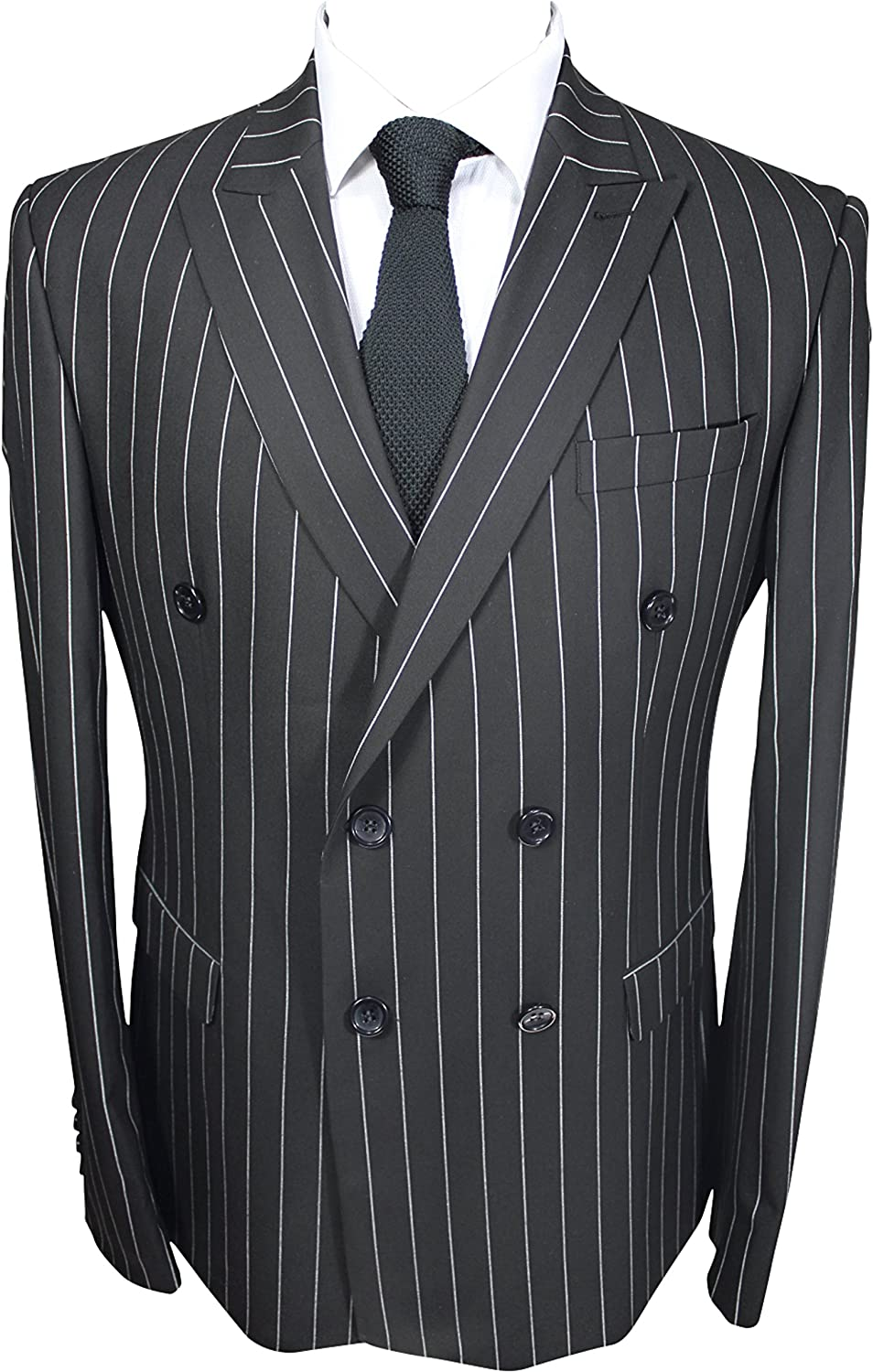 Grey Prince of Wales Glen Check Double Breasted Suit Jack Martin