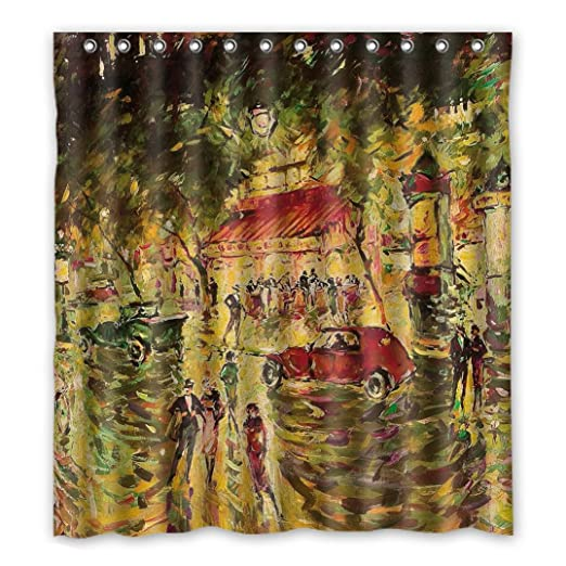 Personal Custom Boulevard disfraz cortina de la ducha Shower ...