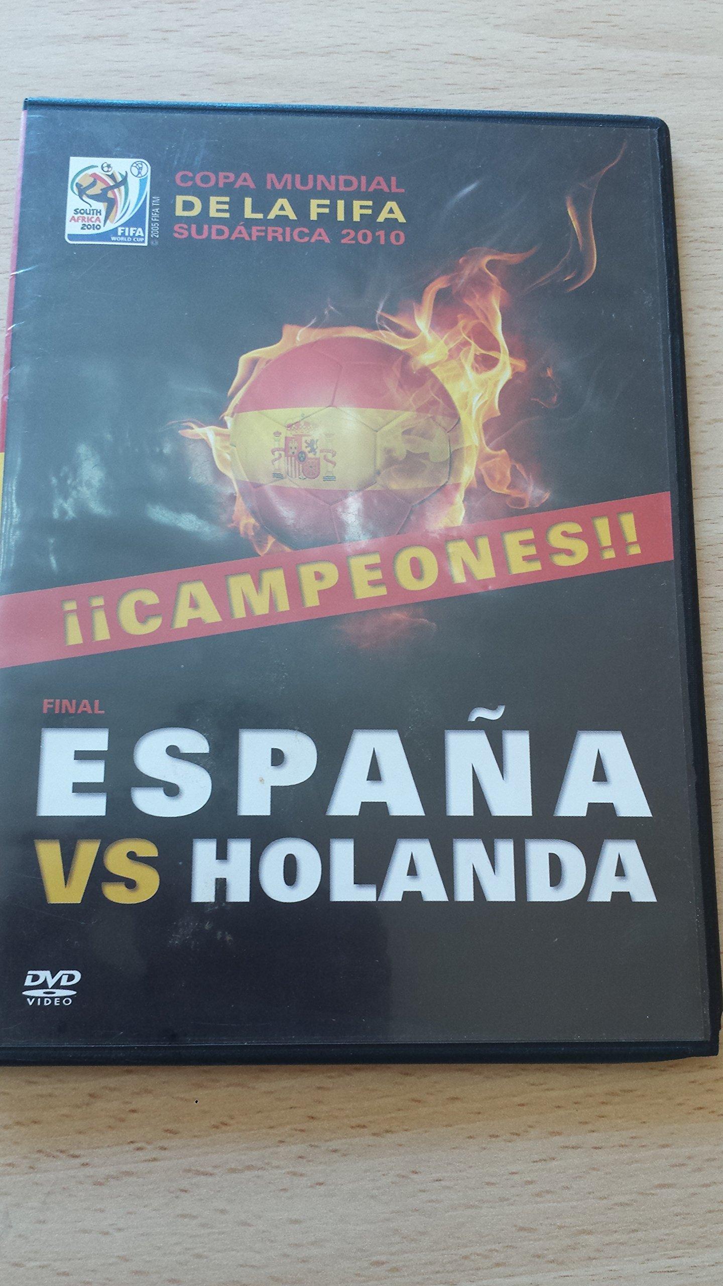 Dvd España vs Holanda. Gol de Iniesta. Campeones!!! Mundial Sudáfrica 2010: Amazon.es: Libros