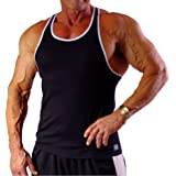 Crazee Wear Yellow with Black Eagle Perfect Tank Top