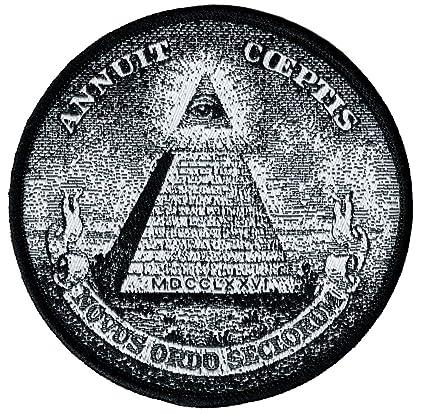 Amazon Annuit Coeptis Embroidered Patch Illuminati Great Seal