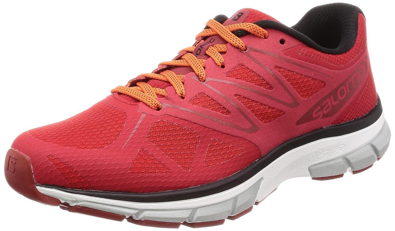 Salomon Sonic, Zapatillas de Trail Running para Hombre 44 2/3 EU|Rojo (Matador/White/Flame)
