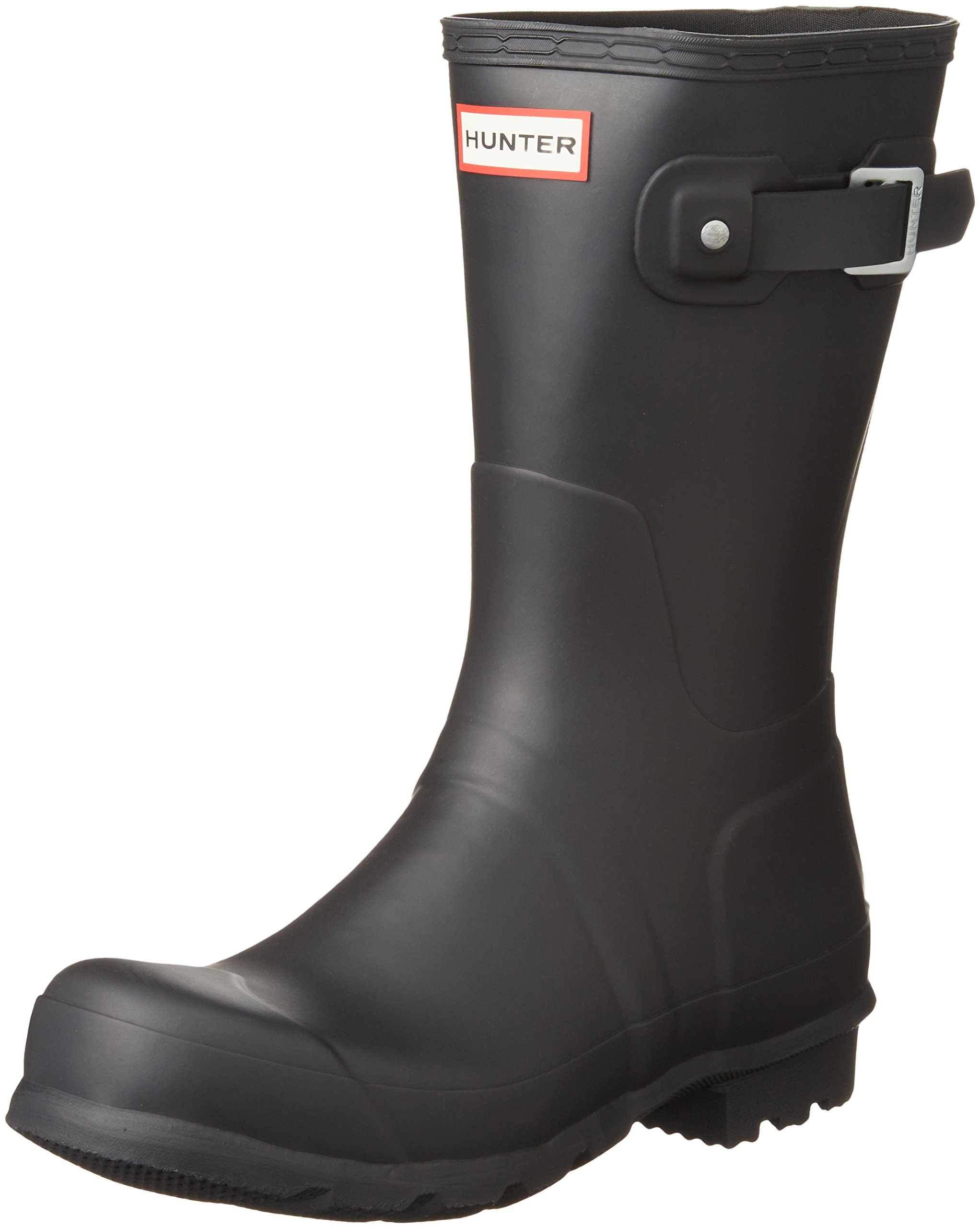 Hunter Boots Men's Original Short Boots, Black, 8 D(M) US