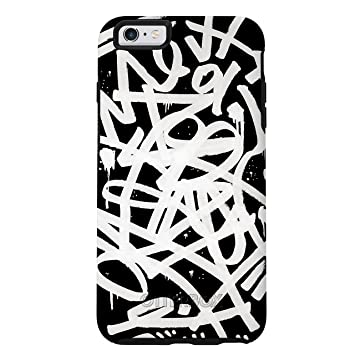 "OtterBox SYMMETRY SERIES Case for iPhone 6 Plus/6s Plus (5.5"" Version) - Retail Packaging - GRAFFITI (BLACK/BLACK/GRAFFITI GRAPHIC) General Purpose Batteries & Battery Chargers at amazon"
