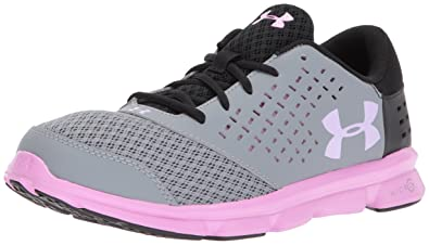1f2ef87b Under Armour Girls' Grade School Micro G Rave Running Shoes: Buy ...