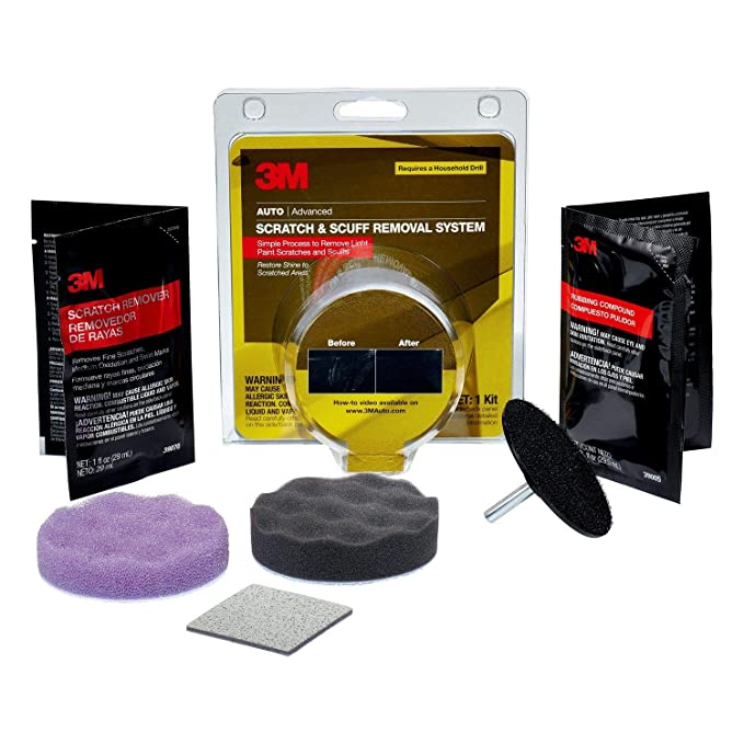 3m Scratch And Scuff Removal Kit Auto Advanced No Tools Required Cleaning & Janitorial Supplies