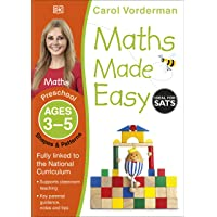 Maths Made Easy Shapes And Patterns Preschool Ages 3-5 (Carol Vorderman's Maths Made Easy)