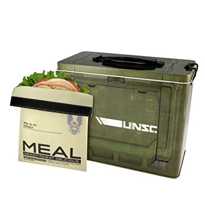 Halo Ammo Crate Tin Lunch Box: Kitchen & Dining