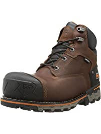 7476a739911 Timberland PRO Men s 6 Inch Boondock Comp Toe WP Insulated Industrial Work  Boot