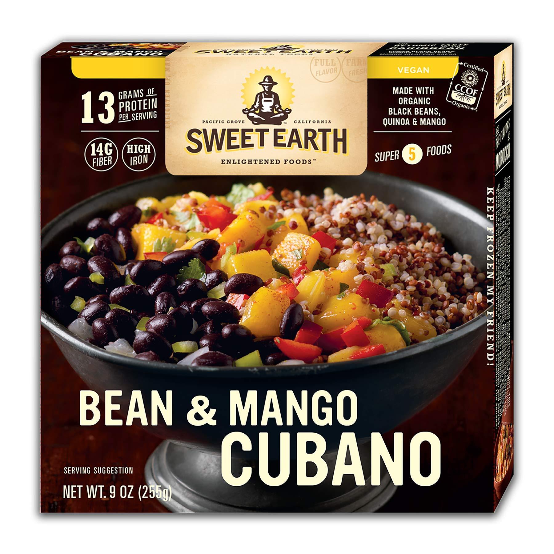 Sweet Earth Vegan Bean & Mango Cubano Bowl 9 ounce (Pack of 8)