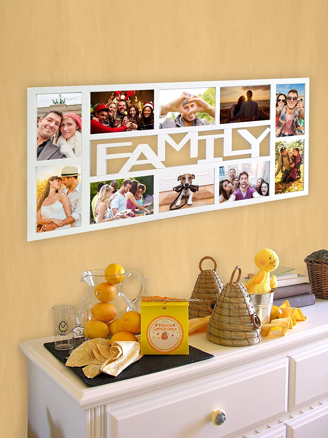 Amazon.de: Empireposter - Collage Bilderrahmen Family - Kunststoff ...